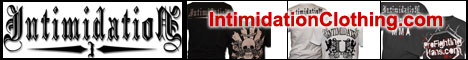 Intimidation Clothing - Boxing Shirts & Clothing