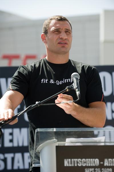 Vitali Klitschko at Press Conference