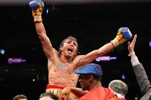 Valero Celebrates Win over DeMarco