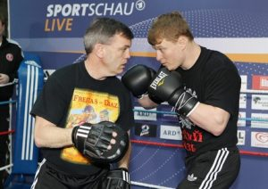 Povetkin Training with Teddy Atlas