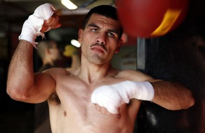 Angulo in training