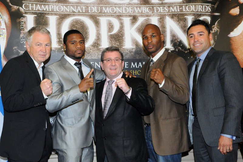 bernard hopkins vs jean pascal. Hopkins vs. Pascal Presser