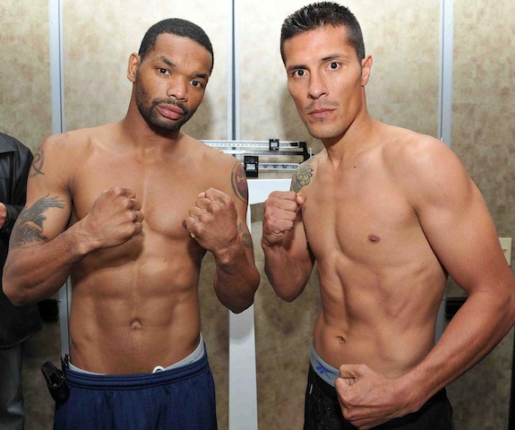 Holt Vs. Diaz Weigh-in Results: Tonight On Friday Night
