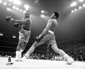 joe frazier punches ali