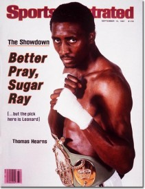 Hearns Sports Illustrated Cover
