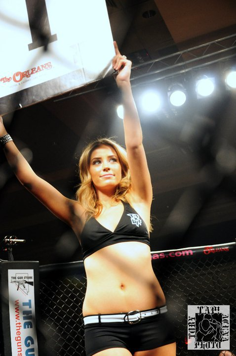 Stephanie Cook Ring Girl
