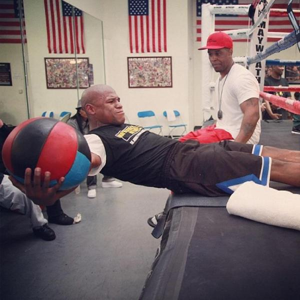 Mayweather cotto canelo mosley training camp photos quotes credit thecheapjerseys Gallery