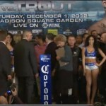CottoTrout weigh-in scene