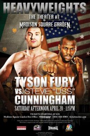 fury vs cunningham poster