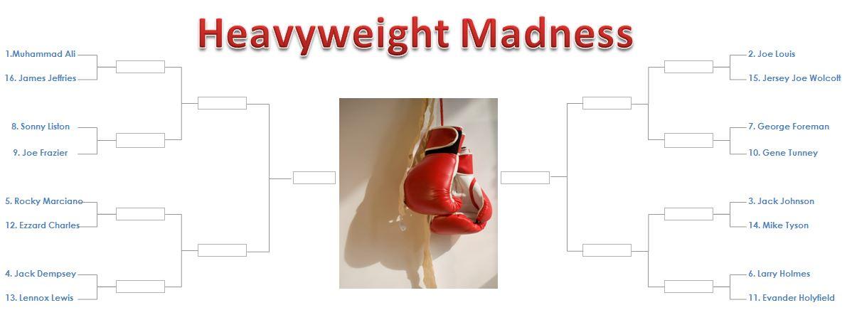 heavyweight march madness bracket