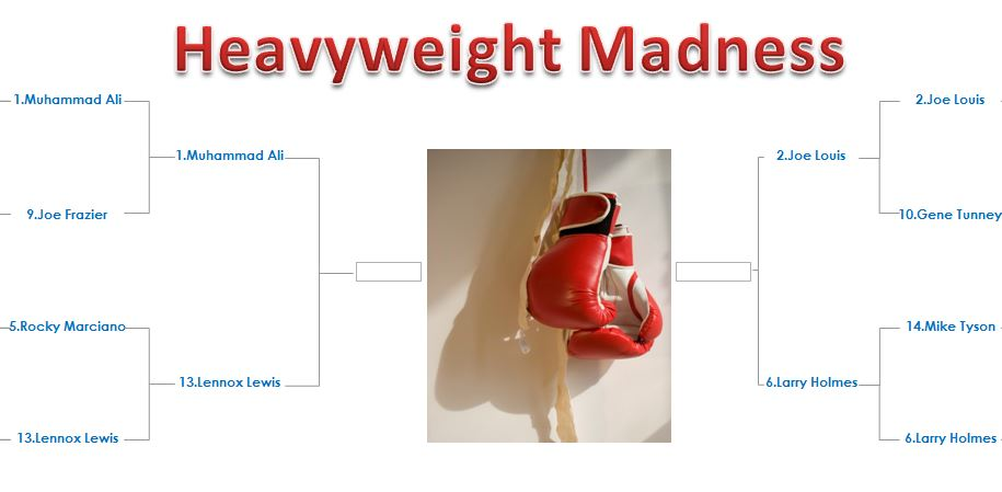 heavyweight march madness elite eight