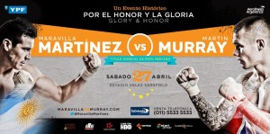 martinez vs murray poster