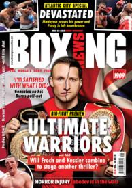 Froch v Kessler Boxing News cover