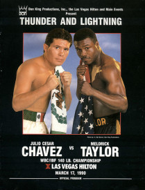 chavez vs taylor poster