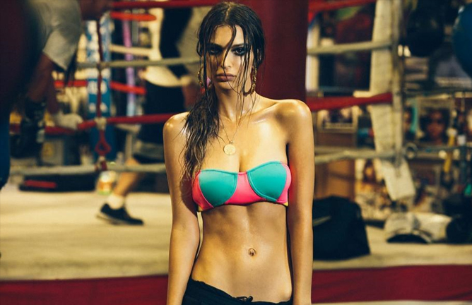 Emily-Ratajkowskis-sexy-boxing-photo-shoot