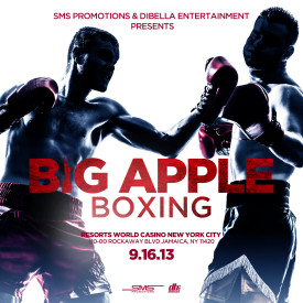 big apple boxing poster