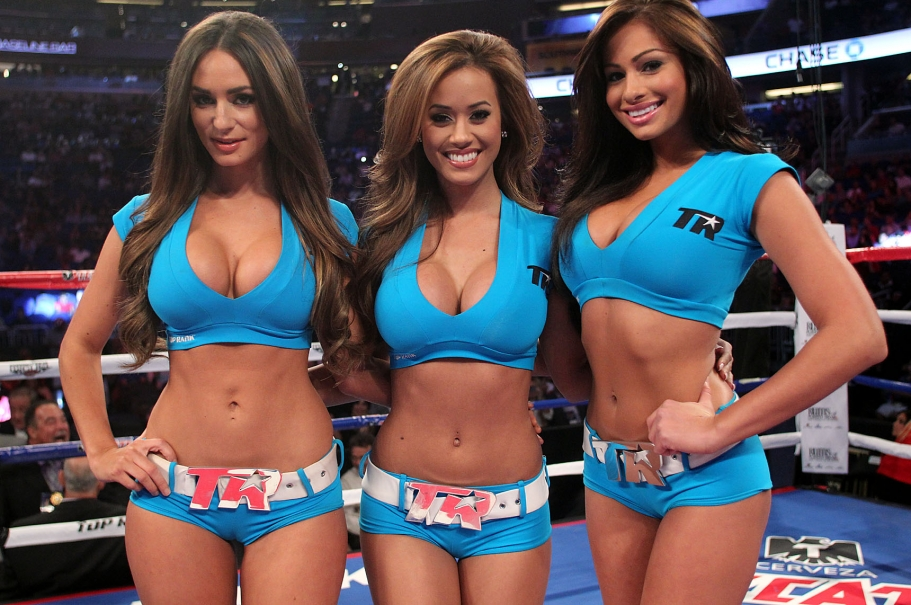 Sexy Top Rank Girls Proboxing Fans Com