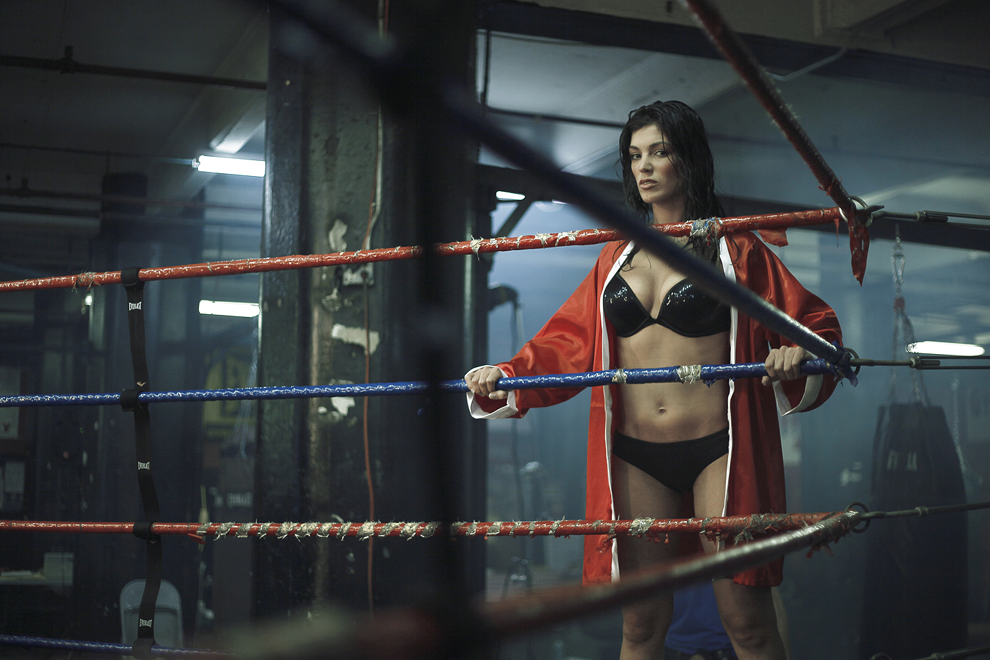 Whom can Sexy nude women boxing join. All