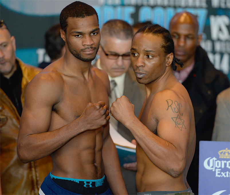 Marcus Browne Weigh-in