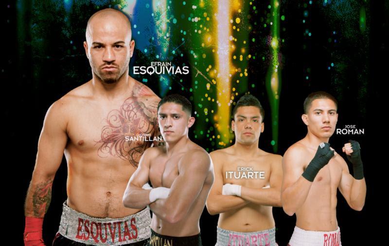 thompson boxing esquivias santillan poster