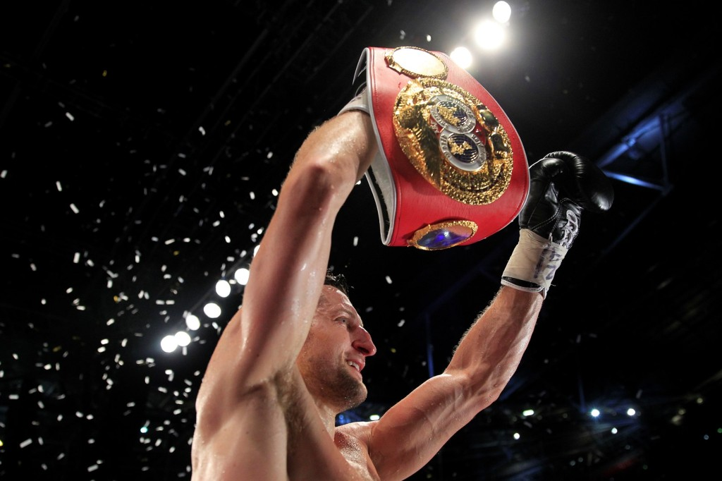 Carl Froch's legacy is set in stone in Nottingham with Leigh Wood looking to emulate the British boxing favourite. Photo Credit: Lawrence Lustig