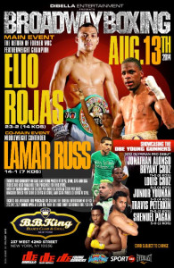 broadway boxing poster rojas and russ
