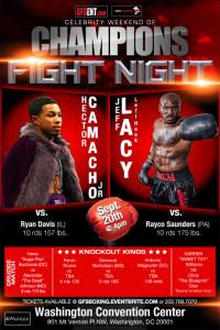 dmv boxing fight night poster