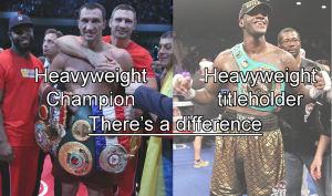 Klitschko Champion Wilder Titleholder meme