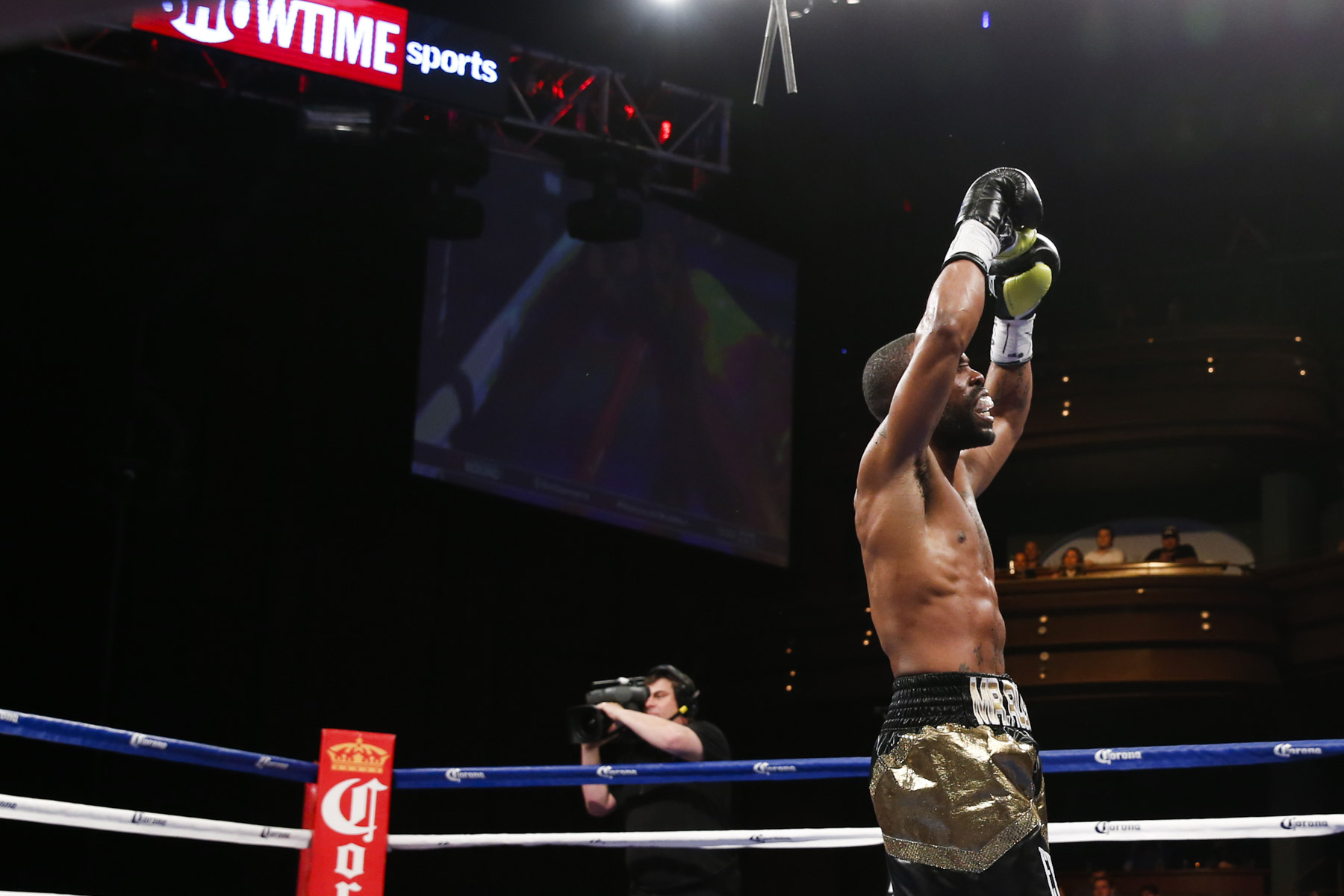 Gary Russell Jr will be looking to rack up another win this weekend against 'King Tug'. Credit: Esther Lin / Showtime