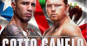 Cotto vs Canelo poster