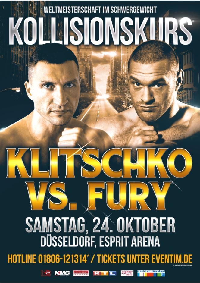 WLADIMIR KLITSCHKO VS TYSON FURY FULL FIGHT
