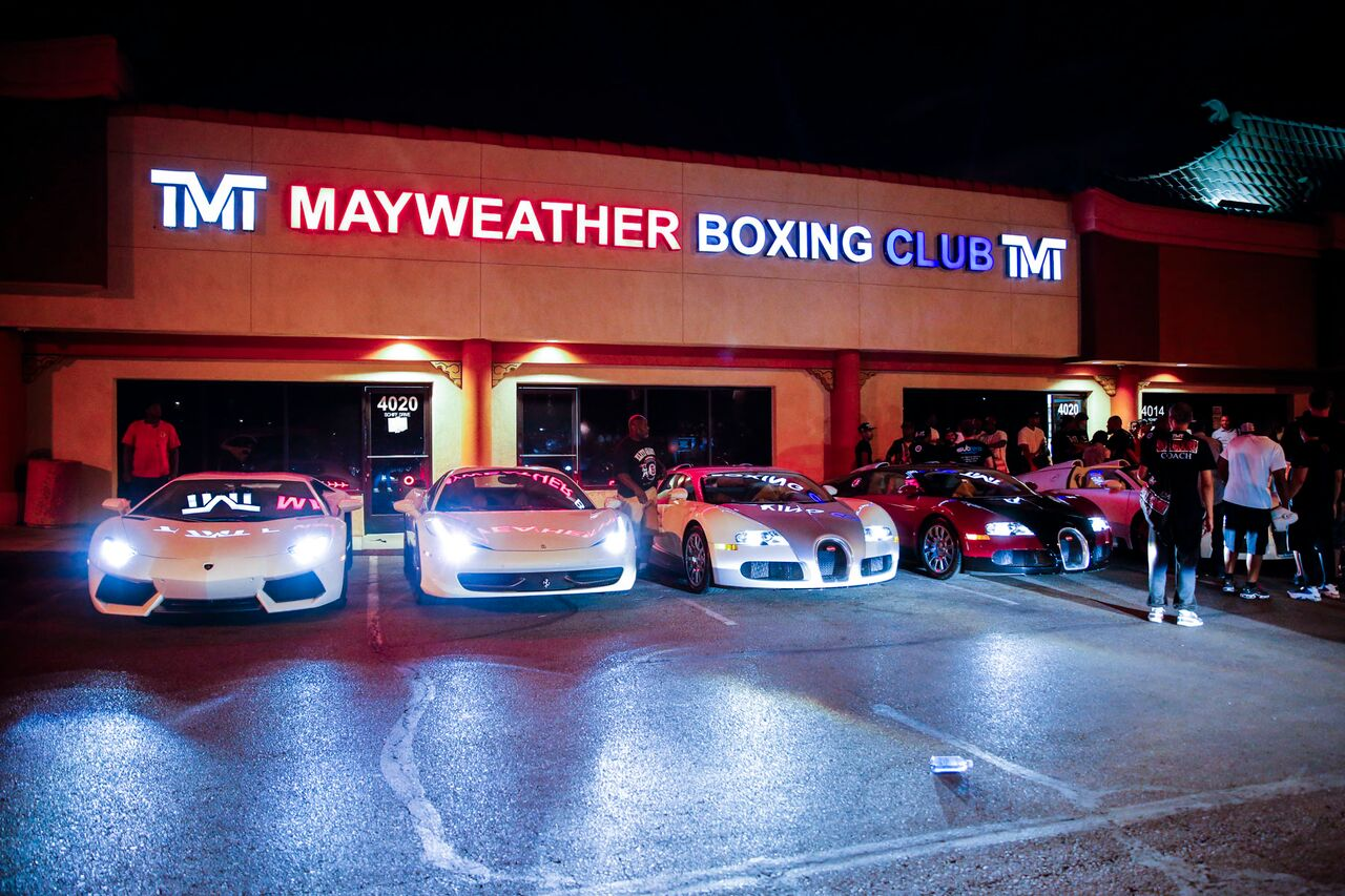 Listing All Cars >> mayweather boxing club and cars | ProBoxing-Fans.com