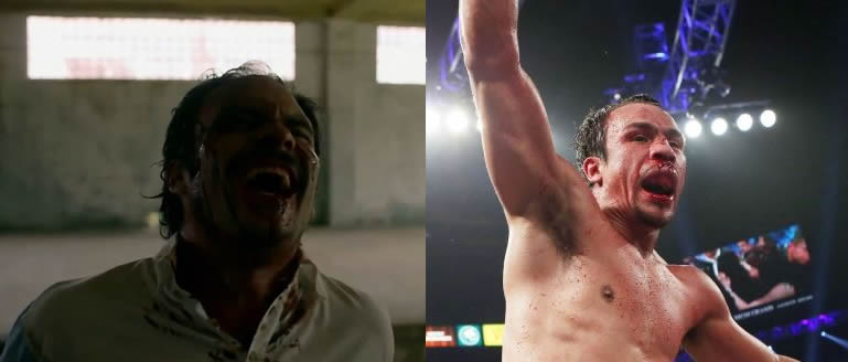 Bloody Gustavo Narcos vs Bloody Juan Manuel Marquez