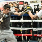 Leo Santa Cruz is looking to become a four-weight world champion on the undercard Credit: Scott Hirano / Showtime