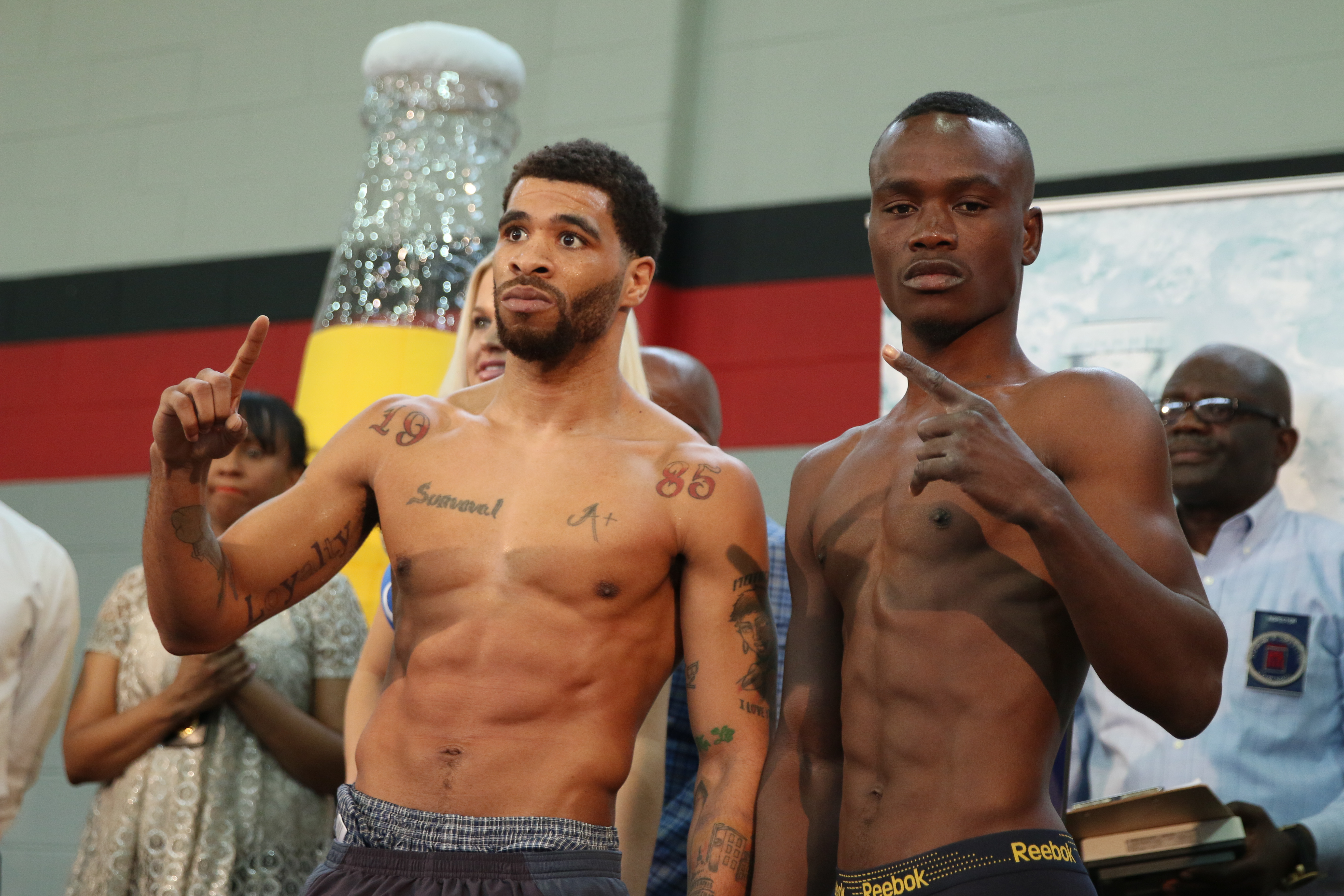 boxing weigh in nude