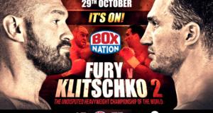 fury vs. klitschko ii poster
