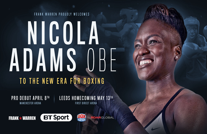 Olympic-gold-medalist-Nicola-Adams-signs-with-Frank-Warren