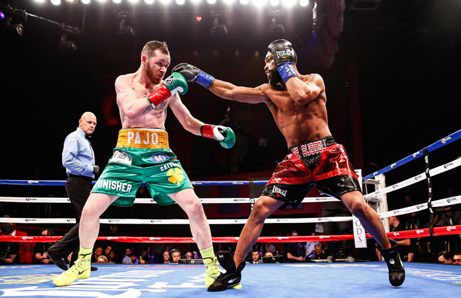Warrington could face WBC champion Gary Russell Jr Credit: Stephanie Trapp / Showtime