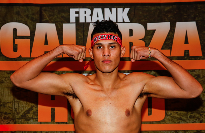 WBC holder David Benavidez is unbeaten in 22 fights
