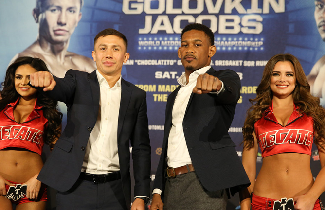 eb05dddca887a4 Credit  Ed Mulholland   HBO. The final press conference for the Gennady Golovkin  vs.