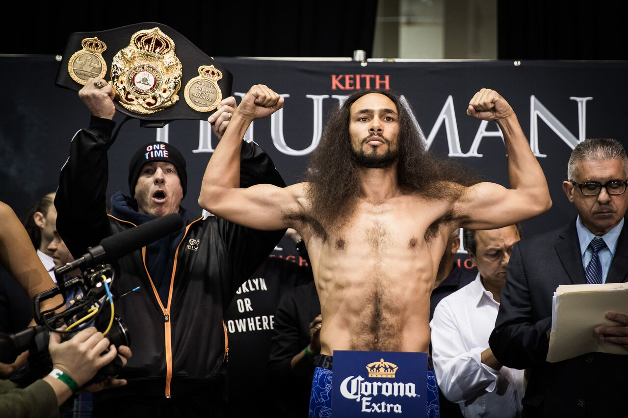 Keith Thurman Weigh In