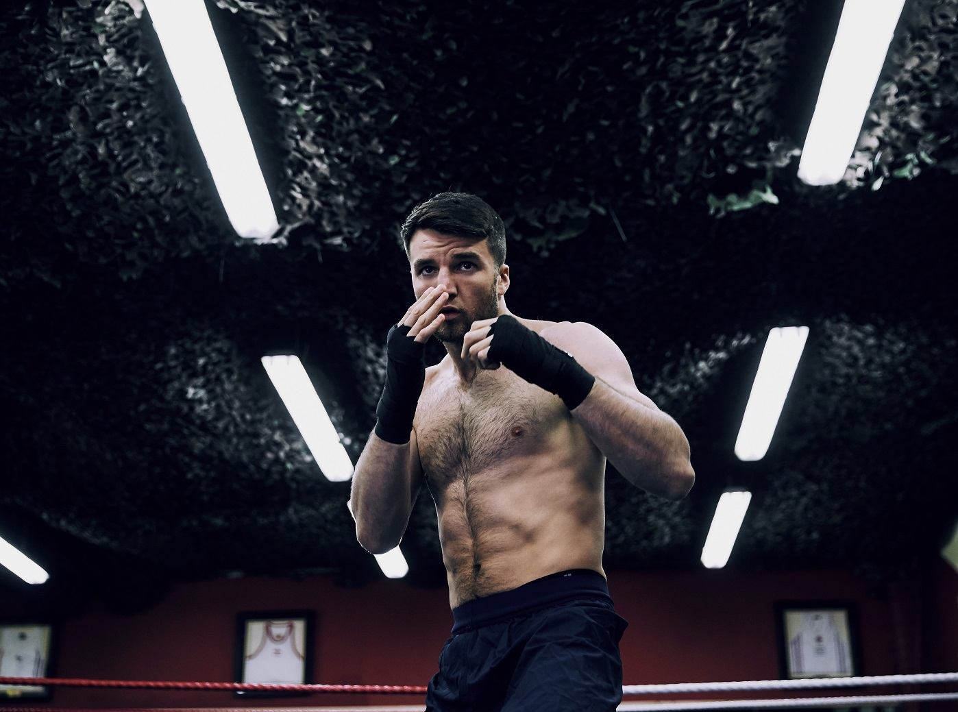 Anthony Fowler signs professional deal with Matchroom Boxing. Photo Credit: Mark Robinson