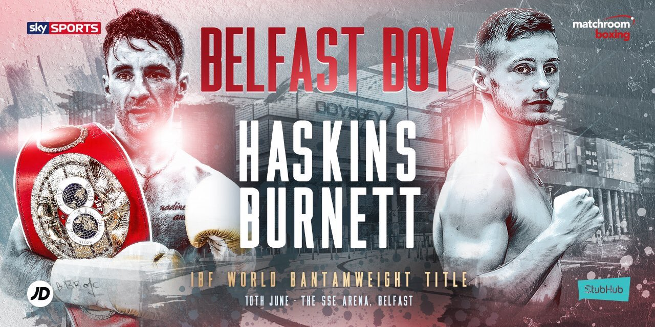 Haskins vs Burnett in IBF Bantamweight clash