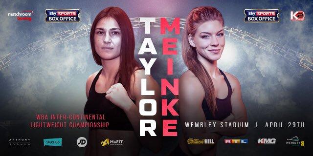 Katie Taylor vs Nina Meinke