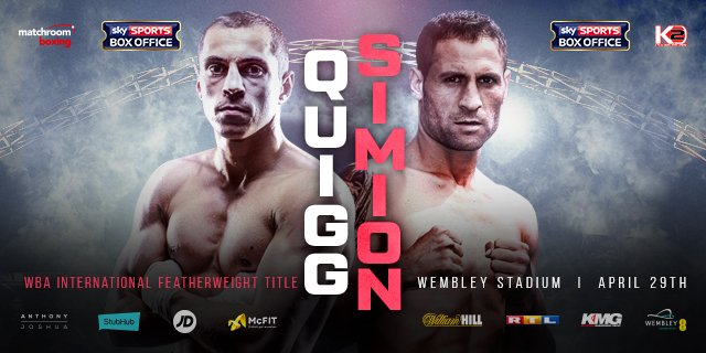 Scott Quigg vs Viorel Simion