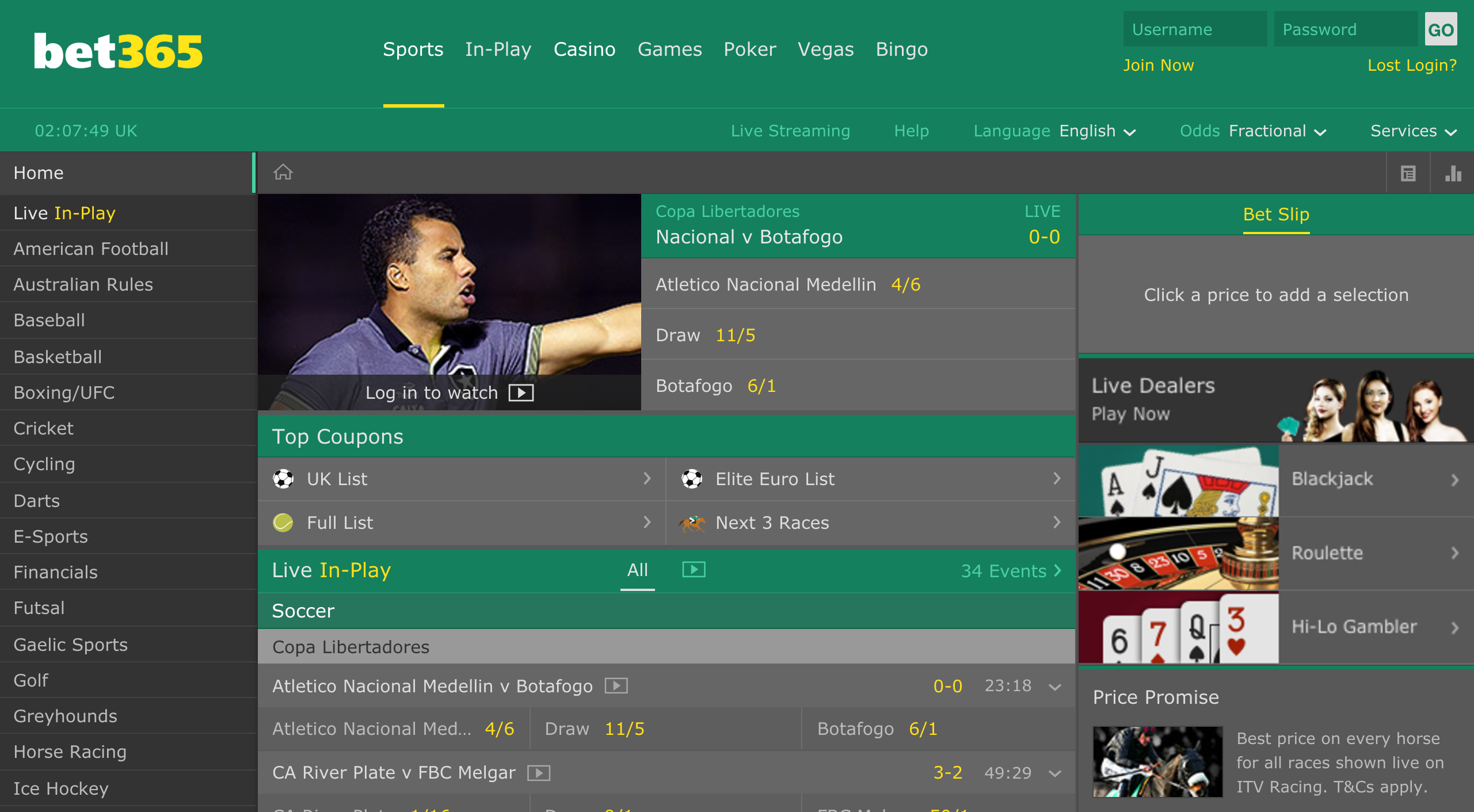 Bet 365 are one of many mobile betting operators who have revolutionised betting on boxing.