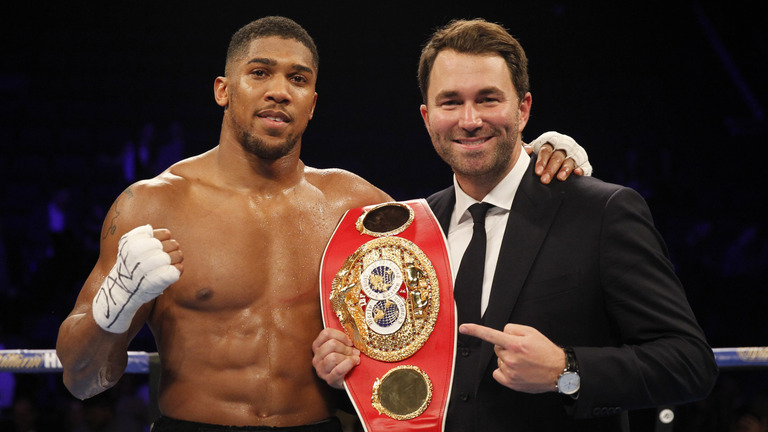 Eddie Hearn and Matchroom want Klitschko rematch for Joshua first