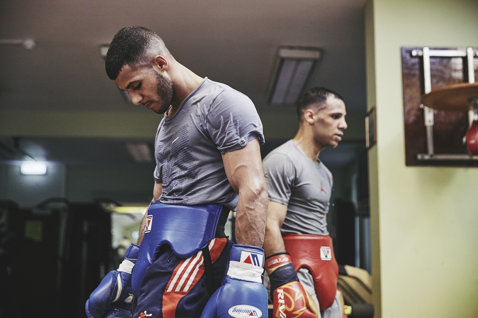 Kal and Gamal Yafai prepare for Saturday night