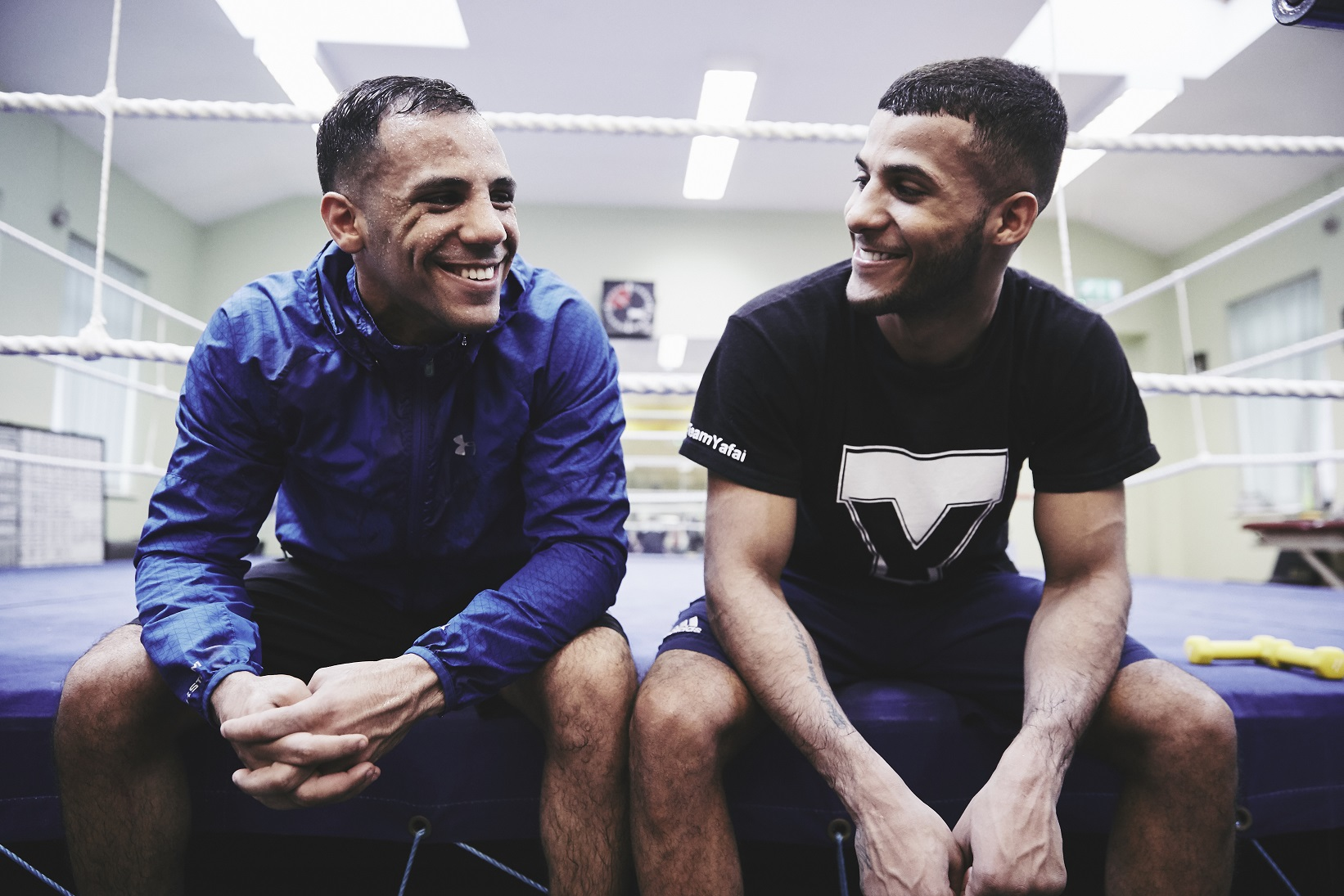 Kai and Gamal Yafai ahead of their fights