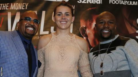 Marshall has signed to Mayweather Promotions and will be based in Las Vegas
